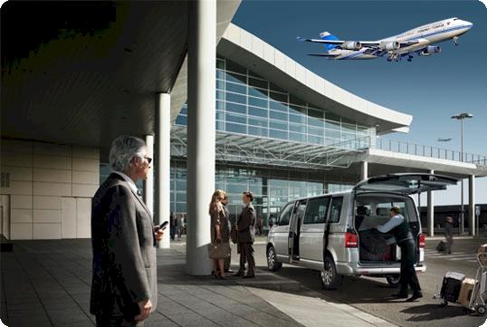 Eine gemütliche Fahrt vom Flughafen nach Wien bei Airportdriver24.at