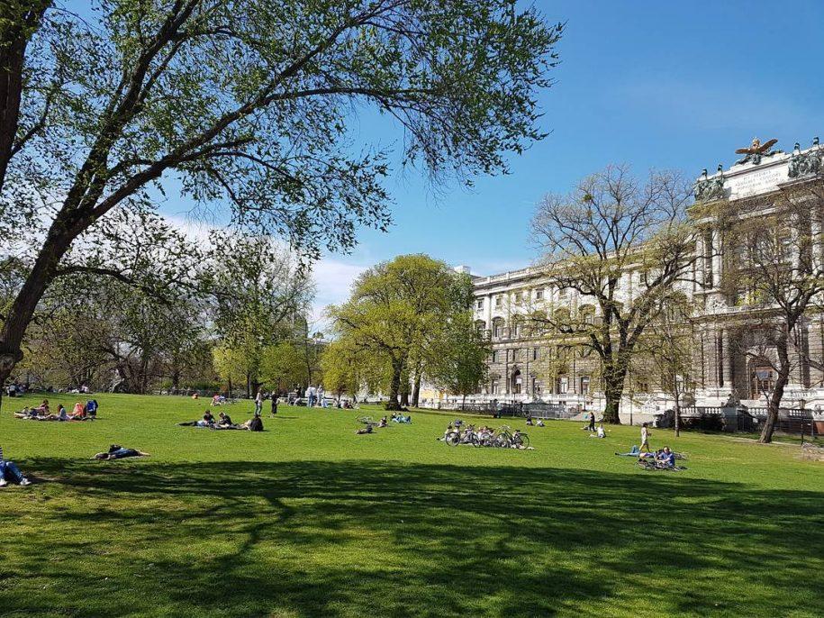 Die schönsten Parks in Wien